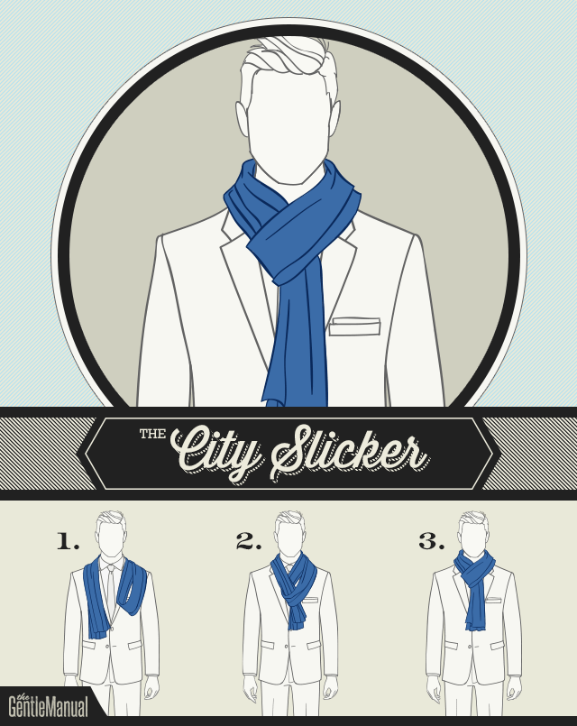 The City Slicker scarf knot