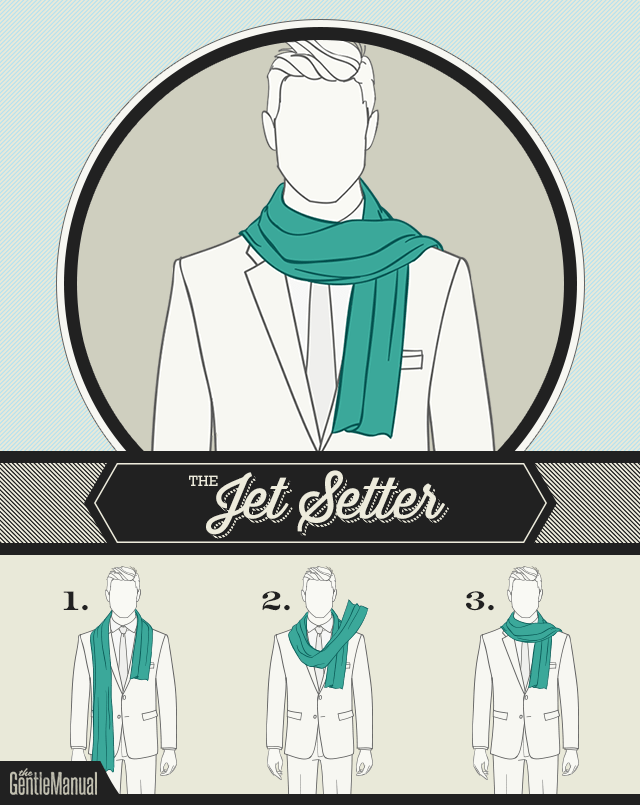 The Jet Setter scarf knot