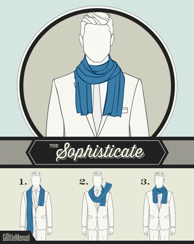 The Sophisticate scarf knot