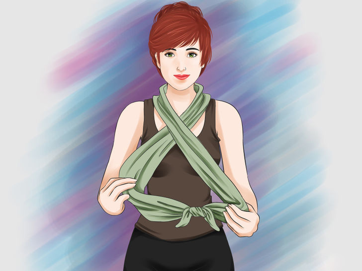 Image titled Tie a Scarf Around the Neck Step 16