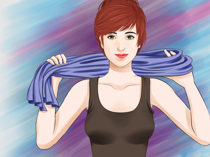 Image titled Tie a Scarf Around the Neck Step 21