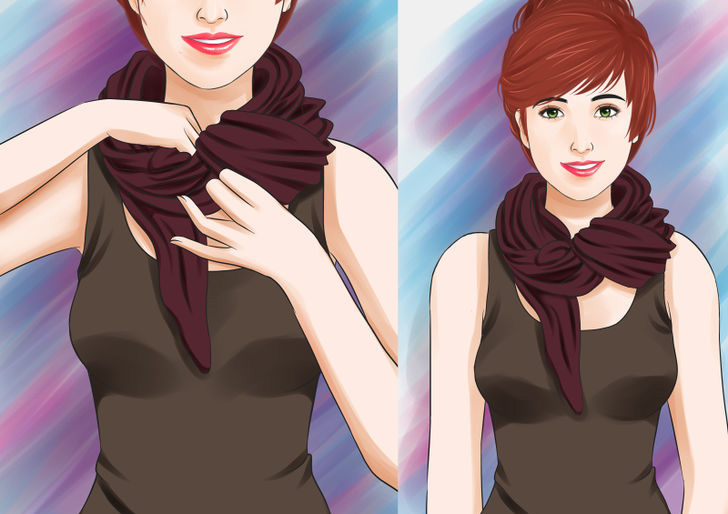 Image titled Tie a Scarf Around the Neck Step 26