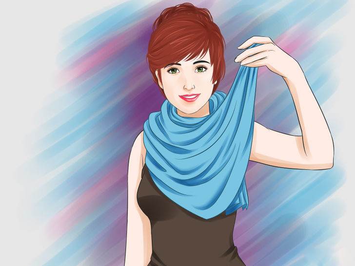 Image titled Tie a Scarf Around the Neck Step 29