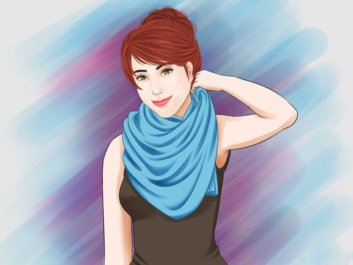 Image titled Tie a Scarf Around the Neck Step 30