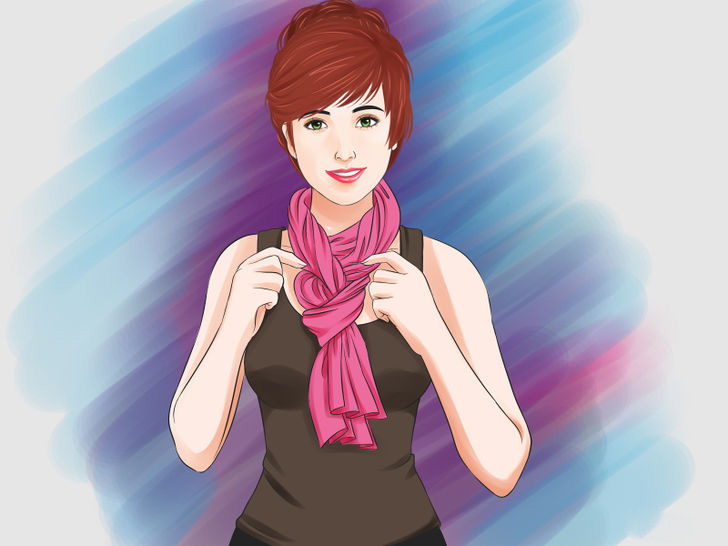 Image titled Tie a Scarf Around the Neck Step 41