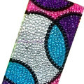 Round Crystal Bling Diamond Rhinestone Jewellery stickers for mobile phone cases covers - Color