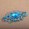 Bling Angel Eyes Alloy Crystal Rhinestone DIY Phone Case Cover Deco Den Kit - Blue