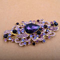 Bling Angel Eyes Alloy Crystal Rhinestone DIY Phone Case Cover Deco Den Kit - Purple