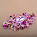 Bling Angel Eyes Alloy Crystal Rhinestone DIY Phone Case Cover Deco Den Kit - Rose