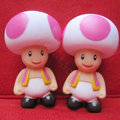 DIY Deco 3D doll Pink Super Mario Plastic Resin Cell Phone Crystal Case Cover