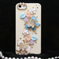 Bling Crystal Butterfly DIY Cell Phone Case shell Cover Deco Den Kit