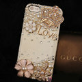 Bling Crystal Love Crown DIY Cell Phone Case shell Cover Deco Den Kit