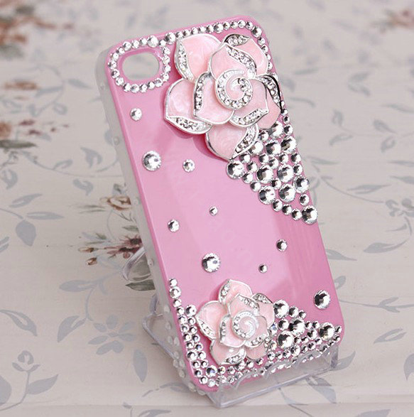 diy rhinestone phone case - photo #2