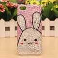 Bugs Bunny Bling Crystal Case Rhinestone Cover shell for iPhone 5 - White