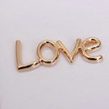 Lover Alloy Crystal Metal DIY Phone Case Cover Deco Kit - Gold
