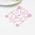 Pink Butterfly Crystal Bling Rhinestone mobile phone DIY Craft Jewelry Stickers