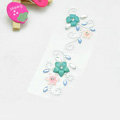 Pink Green Flower Crystal Bling Rhinestone mobile phone DIY Craft Jewelry Stickers