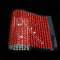 Red Diamond Crystal Bling Rhinestones mobile phone DIY Craft Jewelry Stickers