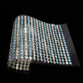 White Blue Diamond Crystal Bling Rhinestones mobile phone DIY Craft Jewelry Stickers