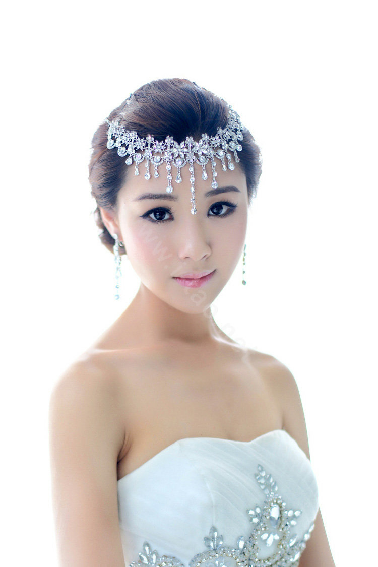 buy wholesale bridal jewelry crystal headband headpiece floral