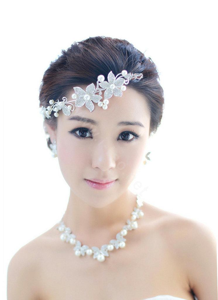 Buy Wholesale Wedding Bridal Jewelry Crystal Pearl