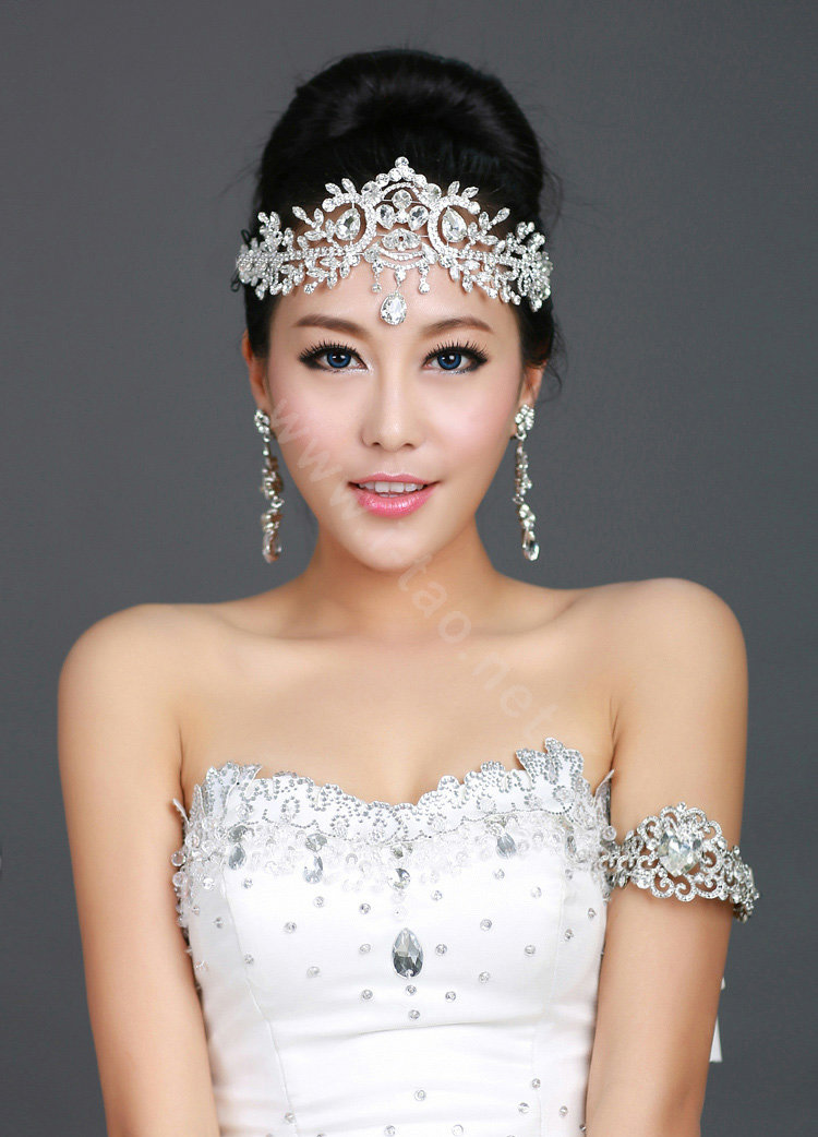 Buy Wholesale Wedding Bride Jewelry Crystal Tiaras Crown Headpiece