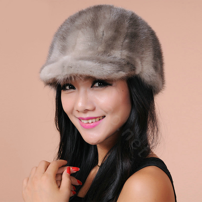 fb58079e87f05 More images. CODE 0000884828102013Qty 12. NAME Fashion Women Mink hair Fur  Hats Winter ...