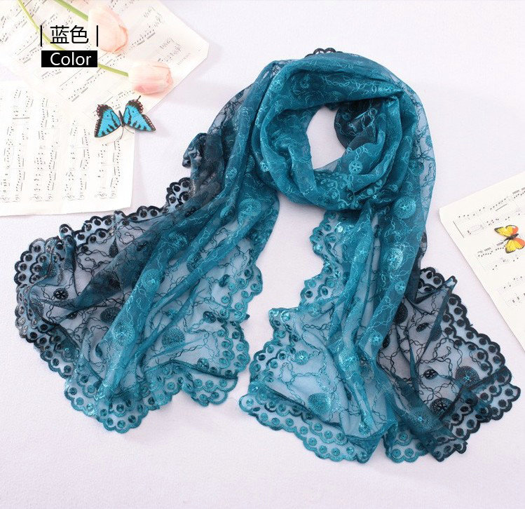 buy wholesale high end fashion embroidery flower lace silk
