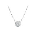 925 sterling silver solid ball bead pendant necklace clavicle chain 18 inch 45cm