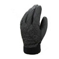 Allfond men winter warm outdoor sport windproof ski motorcycle riding buckle Suede Gloves - Grey
