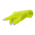 Allfond women touch screen gloves stretch winter warm unisex cashmere gloves - Yellow