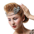 Luxury Retro Wedding Jewelry Flower Crystal Tiaras Bridal Rhinestone Crown Hair Accessories