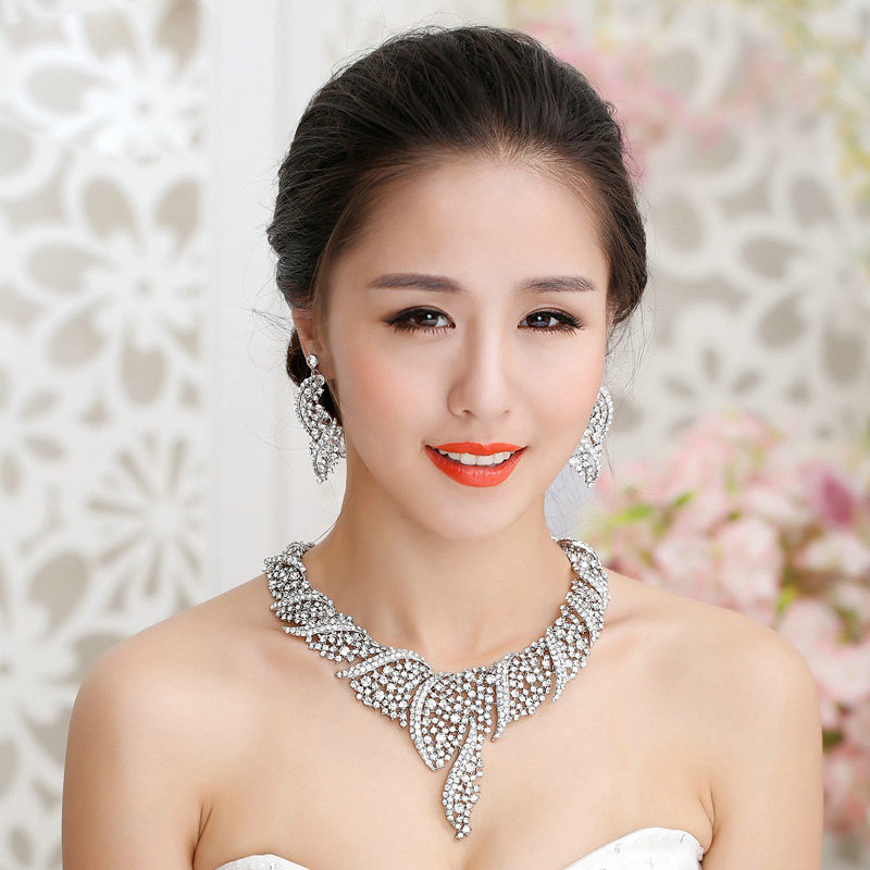 Buy Wholesale Unique Fashion Wedding Jewelry Sets Crystal Diamond