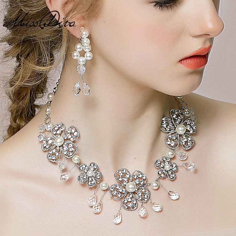 buy wholesale vintage wedding bridal jewelry alloy flower. Black Bedroom Furniture Sets. Home Design Ideas