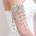 Beautiful Bridal Wedding Rhinestone Crystal Dangle Long Tassel Lolita Arm Deco Armlet /Nekclace /Shoulder Chain
