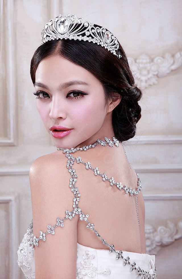 Buy Wholesale High Quality Fashion Crystal Bridal Necklace ...