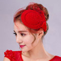 Hot sales Bowknot Red Gauze Bridal Fascinator Hair Accessories Bride Wedding Dress Prom Hat Face Veils