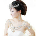 New Fashion Bride Body Chain Rhinestone Crystal Wedding Bridal Shoulder Chain Necklace Accessories