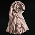 Colorful Unisex Scarf Shawl Winter Warm Cashmere Solid Panties 180*60CM - Beige