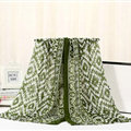 Fashion Women Print Bamboo Fiber Scarves Wraps Scarf Shawl 180*90CM - Green