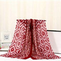 Fashion Women Print Bamboo Fiber Scarves Wraps Scarf Shawl 180*90CM - Red