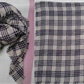 Plaid Scarf Shawls Women Winter Warm Cashmere Solid Wholesale 140*140CM - Grey
