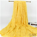 Print Fawn Women Pashmina Shawl Winter Warm Cotton Solid Panties 190*150CM - Yellow
