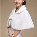 Pretty Bridal Cashmere Scarf Shawls Women Winter Warm Solid Panties 100*50CM - White