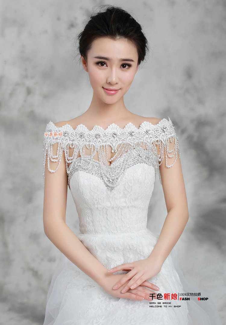 Buy Wholesale Gorgeous Lace Flower Pearls Crystal Beads Tassel ...
