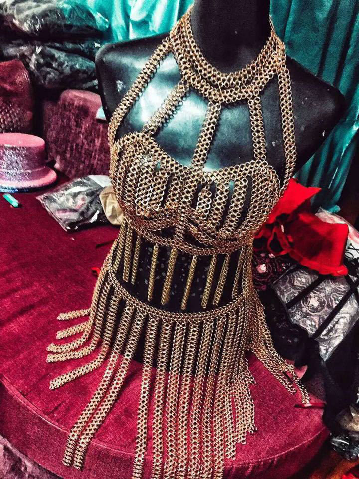 Buy wholesale luxury tassel alloy long necklaces nightclub for Body jewelry cheap prices